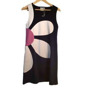Vfish Sleeveless Blossom Shift Dress